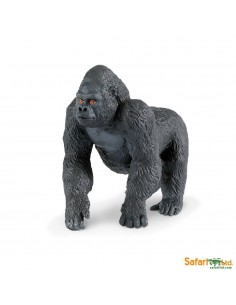 gorille animaux des continents figurine safari ltd enrichissement montessori geographie science carte