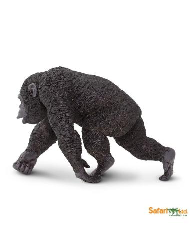 Chimpanzé singe figurine educative Safari montessori Afrique enrichissment decouverte neuroscience