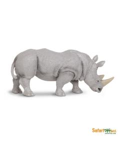 rhinocéros animaux des continents figurine safari ltd enrichissement montessori geographie science carte