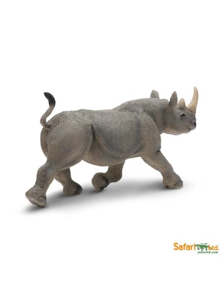 rhinocéros noir animaux des continents figurine safari ltd enrichissement montessori geographie science carte