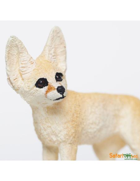 fennec renard sahara desert animaux des continents figurine safari ltd enrichissement montessori geographie science carte