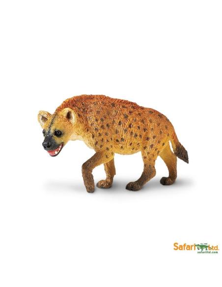 Hyène animaux des continents figurine safari ltd enrichissement montessori geographie science carte