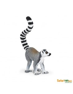 lemurien singe animaux des continents figurine safari ltd enrichissement montessori geographie science carte