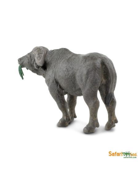 Figurine Buffle du Cap Safari 222729 Matériel pédagogique Enrichissement Montessori Jouet Cartes maternelle science vocabulaire