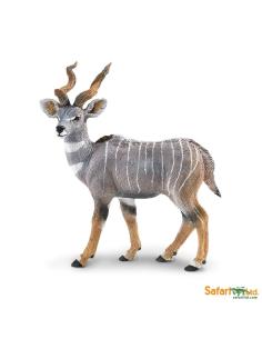 koudou kudu animaux des continents figurine safari ltd enrichissement montessori geographie science carte