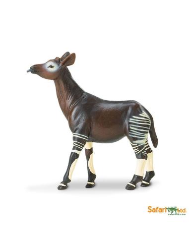 Okapi animaux des continents figurine safari ltd enrichissement montessori geographie science carte