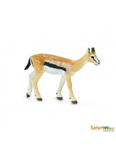 Gazelle animaux des continents figurine safari ltd enrichissement montessori geographie science carte
