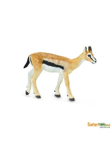 Figurine Gazelle Safari 227029 Matériel pédagogique Enrichissement Montessori Jouet Cartes maternelle science vocabulaire jeu