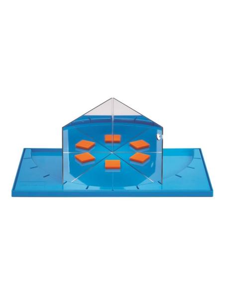 Kit GeoLand attrimath tangram geometrie symetrie miroir geostix barre montessori