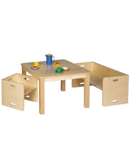 Chaise reversible cube tour observation tabouret ranger apprendre cognitive classe maternelle primaire materiel montessori