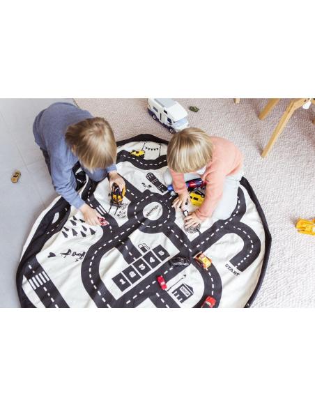 Sac Tapis jouet circuit enfant hopital collectivité garderie nourrice nounou ecole maternelle crèche