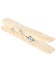Pince à linge en bois 4.5cm activité pratique montessori imitation