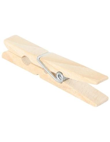 Pince à linge en bois activité pratique montessori imitation motricite fine etendre linge corde materiel