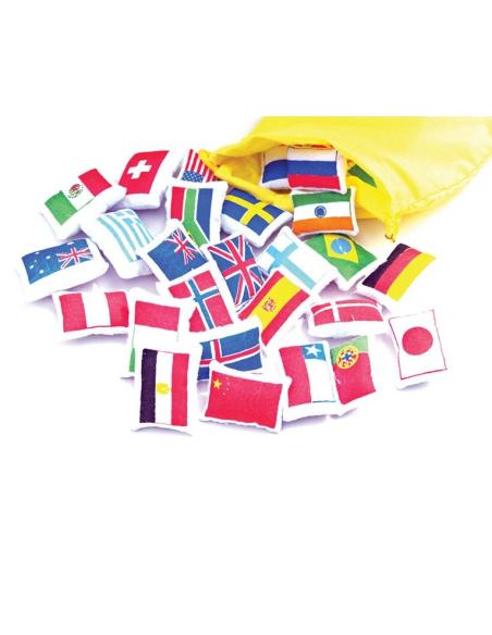 Dapeaux Planisphère tissu Montessori carte monde jeu didactique pedagogique maternelle primaire jouet fait main