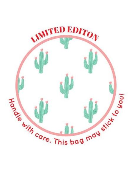Sac Tapis Play&go jouet cactus tendance modern kawai enfant hopital collectivité garderie nourrice ecole maternelle crèche