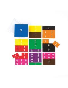 carre fraction circulaire montessori college matériel educatif mathematique apprendre facilement pedagogique maths singapour