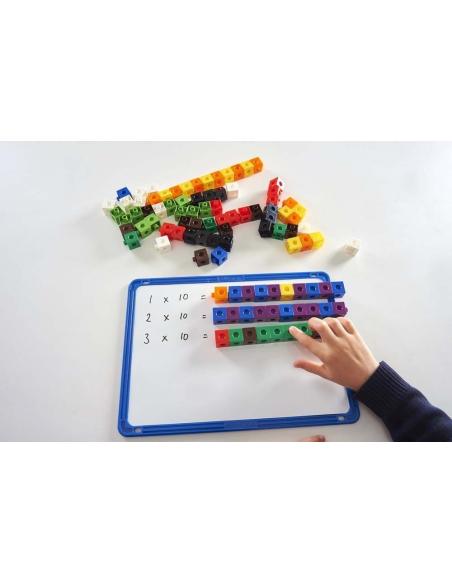 Cubes multidirectionnels methode singapour maths ecole calcul fraction couleur emboitable empilable