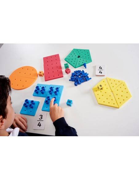 comprendre maths Fraction & Quantité atelier autonome steiner singapour montessori neuroscience ecole cycle college