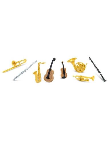 figurine instrument musique materiel montessori vocabulaire violon flute miniature vent