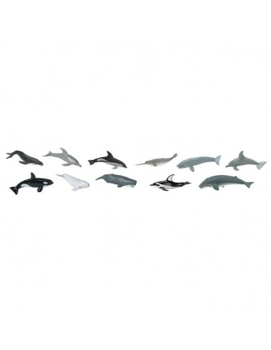 Baleines dauphins figurine educative montessori education