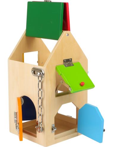 Maison à serrures Small Foot Design 4432  Motricité fine - 4