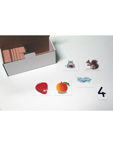lot carte objet choses magnetique singapour compter equation maths ecole primaire presentation démonstration