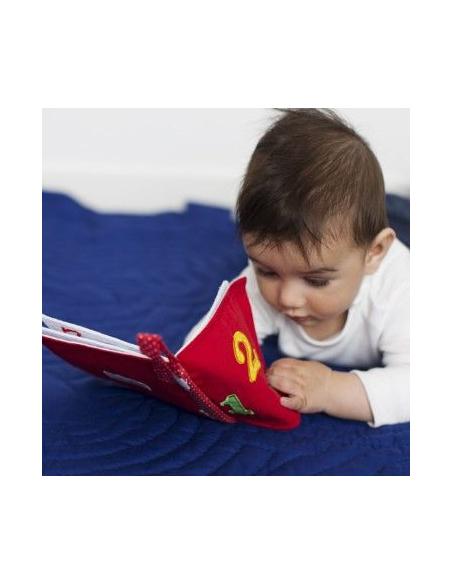livre tissu activité montessori apprendre a compter associer chiffre nombre quantités fait main