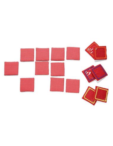 Cartes memory personnalisables (tissus+plastique) Oskar&ellen {PRODUCT_REFERENCE}  Dominos et lotos - 3
