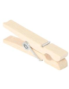 Pince à linge en bois 7cm activité pratique montessori imitation