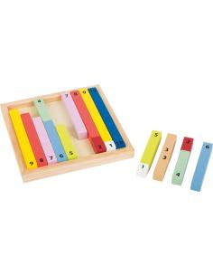 materiel educatif en bois complement a 10 montessori apprendre manipulation memorisation