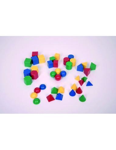 lot forme volume solide geometrique materiel activité montessori mehtode singapour ecole primaire maths