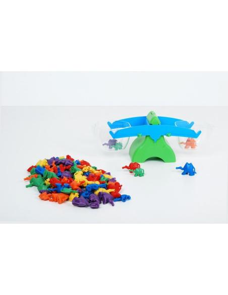 Figurine plastique chameaux couleur connectable poids tri algorithme sequence maths scolaire pedagogique didactique educatif