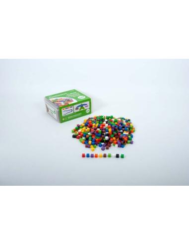 Centicubes centimetre materiel pedagique educatif scolaire classe mathematiques base 10 decimale