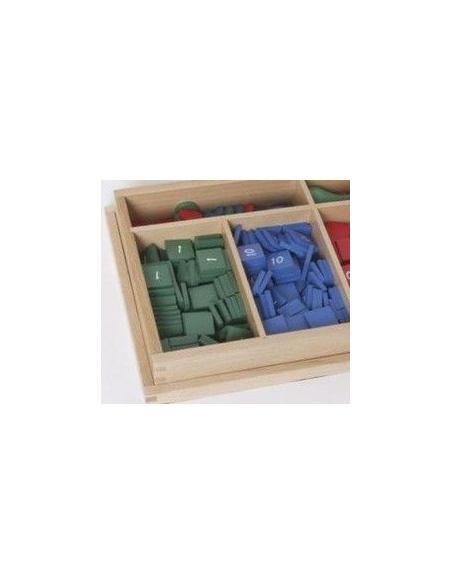 Materiel montessori les timbres methode activite mathematique singapour classe collectivite atelier