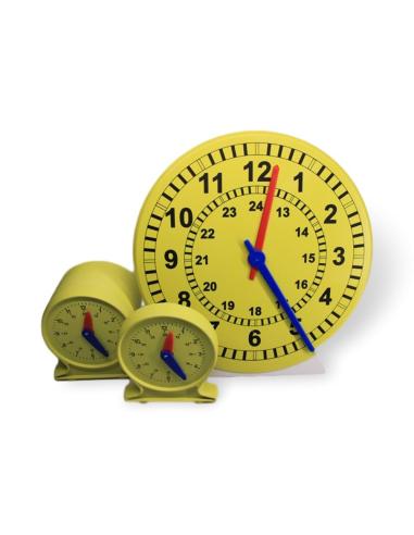 horloge apprentissage mecanisme synchronise classe matériel educatif didactique