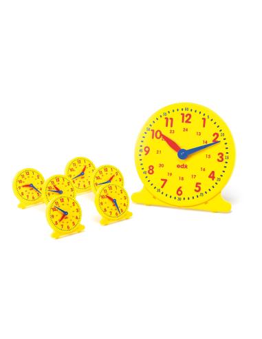 Apprendre heure materiel activite pedagogique educatif scolaire didactique collectivite ecole classe enseignant horloge pendule