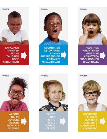 Emotiblocks jeu emotion reeducation materiel orthophonie ecole educatif pedagogique apprendre sociabilite reconnaissance