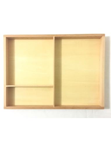 Boîte en 3 parties LesMinis Montessori A00005  Matériel Montessori - 1