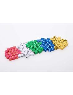 Dés à jouer systeme decimal probabilité jeu mathematiques didactique materiel scolaire