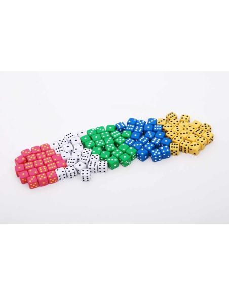 Dés à jouer systeme decimal probabilité jeu mathematiques didactique materiel scolaire pedagogique catalgoue scolaire