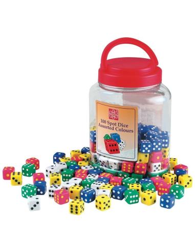 Dés à jouer systeme decimal probabilité jeu mathematiques didactique materiel scolaire pedagogique boutique achat