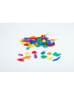 Insectes de tri couleur colore mathematiques didactique educatif pedagogique figurine