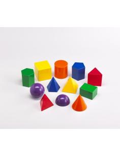 Solides volumes geometrique materiel scolaire didactique pedagogique educatif geometrie