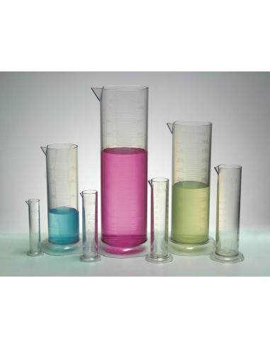 Éprouvettes cylindriques graduées - Matériel de laboratoire scolaire Edu-QI 52703  Matériel pour experiences - 3