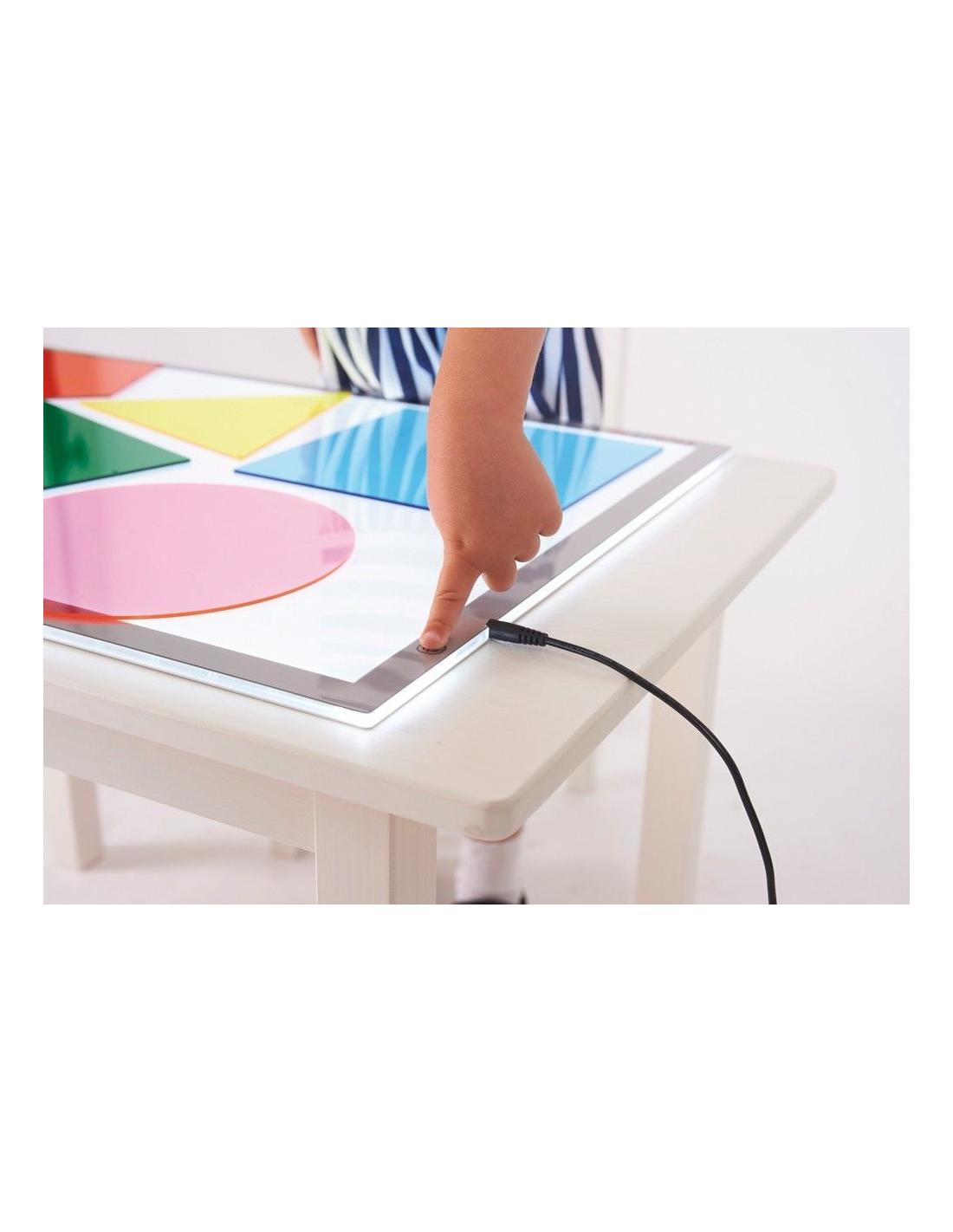 Table Lumineuse Sensorielle Format A2 Pedagogie Montessori