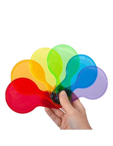 Palettes couleurs transparentes - Table lumineuse sensorielle Tickit ® {PRODUCT_REFERENCE}  Lumières et accessoires - 5