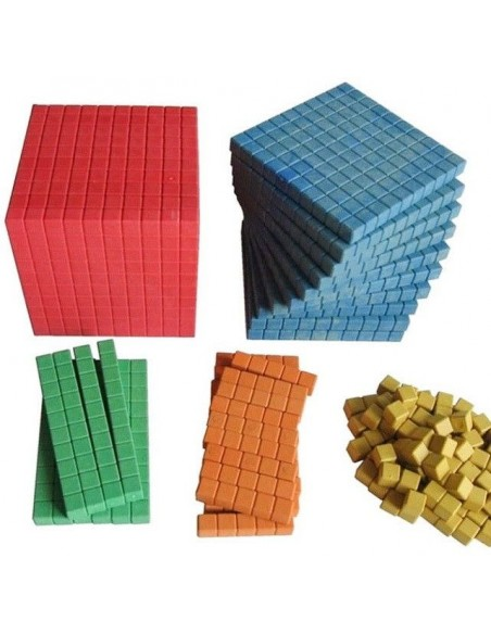 Système décimal base dix matériel montessori lubienska pedagogie active mathématiques ecole maternelle primaire maths singapour