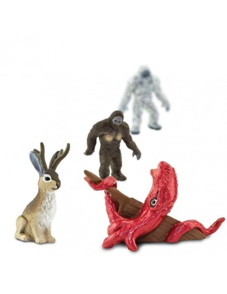 Cryptozoologie bigfoot loch ness mythe kraken legen histoire figurine educative montessori education