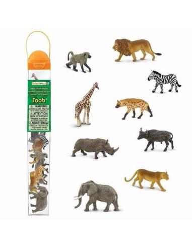 Lot figurine afrique sud rhino hyene lion babouin singe cap lionne zebre educative montessori education monde