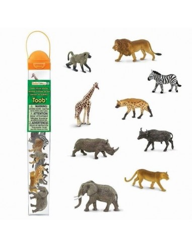 Figurines Afrique du Sud - Tube Safari Ltd® 100409 Safari Ltd® {PRODUCT_REFERENCE}  Tubes et Toob® - 3